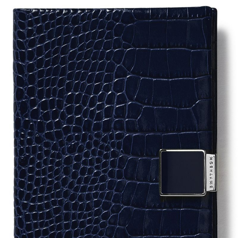 """<p><strong data-redactor-tag=""""strong"""" data-verified=""""redactor"""">Smythson </strong>planner, $160, <a href=""""http://www.smythson.com/us/navy-2017-panama-diary-1017387.html?___SID=U"""" target=""""_blank"""" data-tracking-id=""""recirc-text-link"""">smythson.com</a>.</p>"""