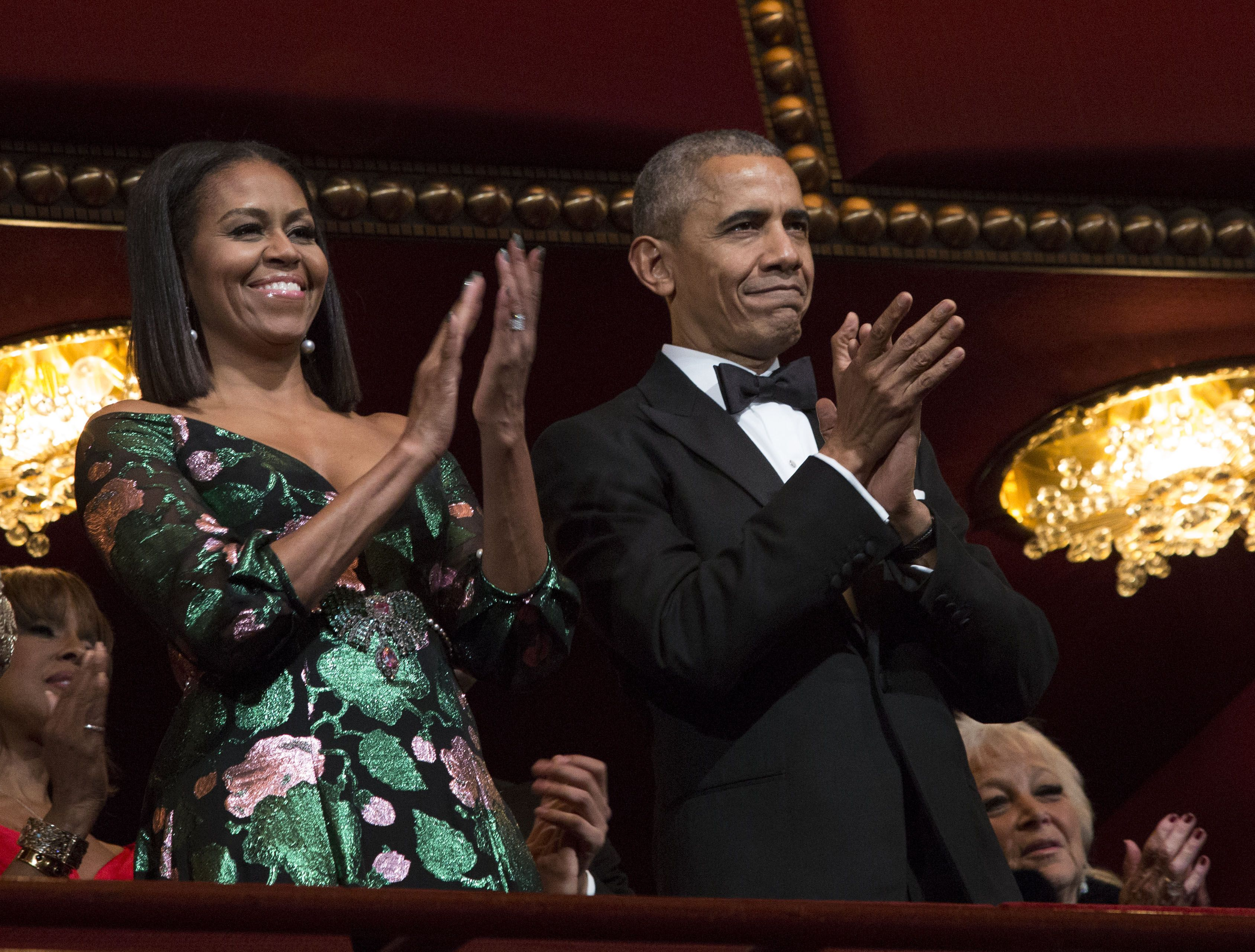 021736f091 A Timeline of Michelle Obama's Kennedy Center Honors Fashion
