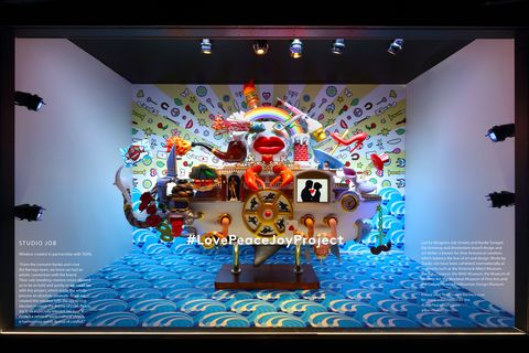 "<p>While <a href=""http://www.barneys.com/"" target=""_blank"" data-tracking-id=""recirc-text-link"">Barneys New York</a> has a holiday windows project worth noting too–their Peace, Love and Joy window display at both their Madison Avenue and Downtown flagships are a collaboration with contemporary, performance and mixed media artists–their holiday promotions and events rosters are just as lust-worthy. From December 7th-10th (think fast!), with any beauty purchase over 5 in-stores or online, shoppers receive a Barneys Beauty Bag containing products from the store's key cosmetics and skincare brands. At the same time, the beauty department will also be offering Downtown shoppers 20% off a <a href=""https://www.blindbarber.com/"" target=""_blank"" data-tracking-id=""recirc-text-link"">Blind Barber</a> service, and a complimentary drink with service. Fine jewelry shopping events are also planned at the Madison Avenue location, with Sidney Garber showcasing pieces the evening of December 13th.</p> <p><em data-redactor-tag=""em"" data-verified=""redactor"">Barneys Madison Avenue; 660 Madison Ave, New York, NY 10065; (212) 826-8900.</em></p> <p><em data-redactor-tag=""em"" data-verified=""redactor""></em><em data-redactor-tag=""em"" data-verified=""redactor"">Barneys Downtown; </em><span><em data-redactor-tag=""em"" data-verified=""redactor"">101 7th Ave, New York, NY 10011; (646) 264-6400</em><em data-redactor-tag=""em"" data-verified=""redactor"">.</em></span></p>"