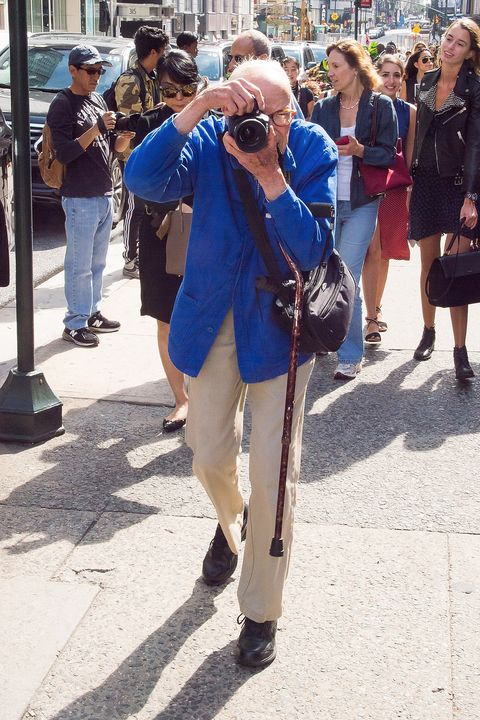 "<p>In June, the fashion world mourned the loss of beloved photographer, Bill Cunningham. The 87-year-old icon died following a stroke, creating a noticeably empty space in the industry—namely on the street style scene, during Fashion Week and at New York's most prestigious events. To commemorate him, Cunningham's go-to street style corner—57th and 5th—was <a href=""http://www.harpersbazaar.com/fashion/photography/news/a16376/bill-cunningham-57th-and-5th-avenue/"" target=""_blank"" data-tracking-id=""recirc-text-link"">renamed ""Bill Cunningham Corner""</a> in July and then during the first New York Fashion Week without him, photographers paid tribute to the legend <a href=""http://www.harpersbazaar.com/fashion/fashion-week/news/a17579/fashion-photographers-bill-cunningham-tribute/"" target=""_blank"" data-tracking-id=""recirc-text-link"">by all wearing his signature blue jacket</a>. </p>"
