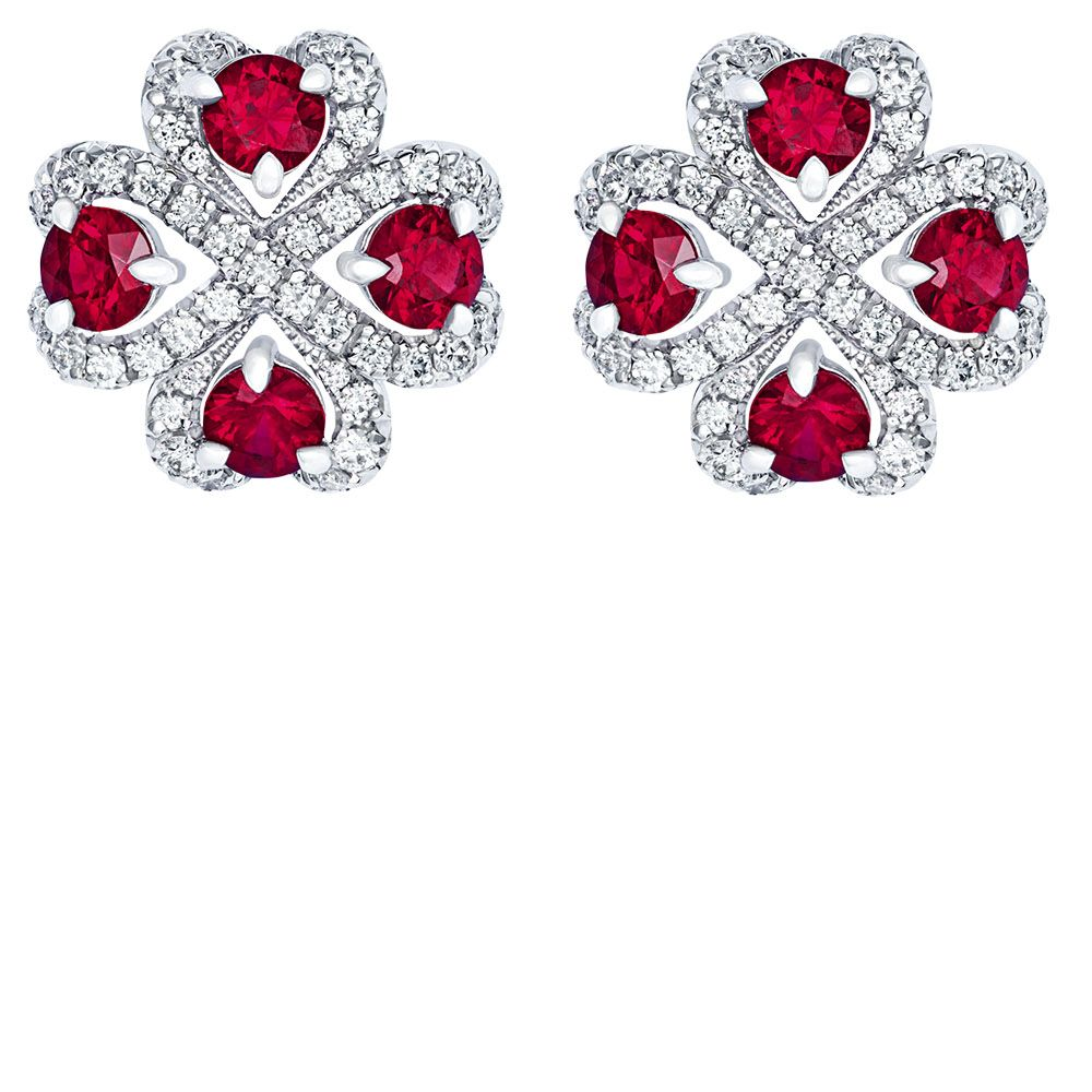 "<p><strong data-redactor-tag=""strong"" data-verified=""redactor"">Gemfields x Fabergé</strong> earrings, $14,000, 646-559-8848.</p>"
