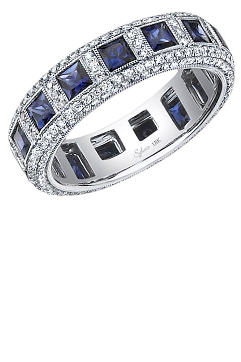 """<p><strong data-redactor-tag=""""strong"""" data-verified=""""redactor"""">Sylvie Collection</strong> ring, $5,465, <a href=""""https://www.sylviecollection.com/"""" target=""""_blank"""" data-tracking-id=""""recirc-text-link"""">sylviecollection.com</a>. </p>"""