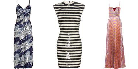 Sleeve, Dress, Pattern, Textile, White, Style, One-piece garment, Magenta, Fashion, Neck,