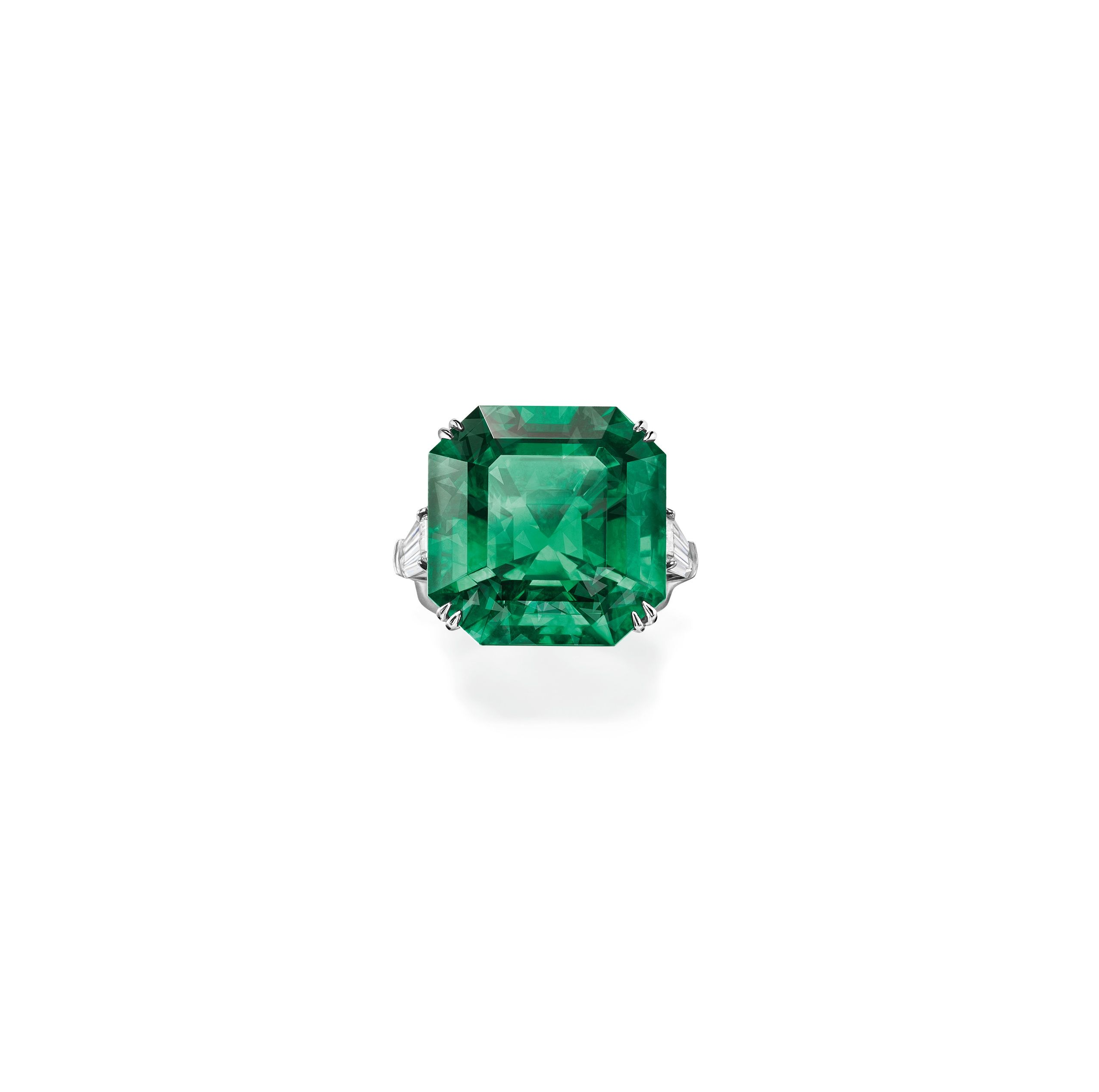 trillions and of one unique diamond with a diamonds octagonal jewelers copy emerald kind af ring platinum products
