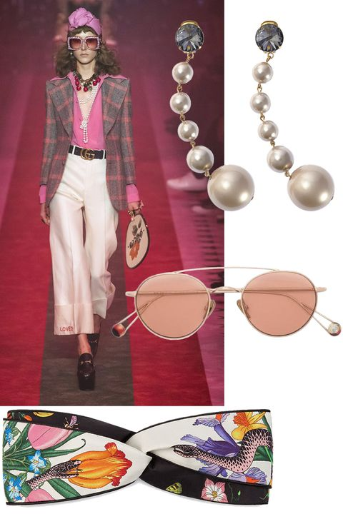 "<p><span>Look at your closet through a new lens. And remember, it's all in the details.&nbsp;</span></p><p><em data-redactor-tag=""em"">Marni earrings, $375,&nbsp;<a href=""https://shop.harpersbazaar.com/m/marni/pearl-drop-earrings-10046.html"" data-tracking-id=""recirc-text-link"">shopBAZAAR.com</a>; Ahlem sunglasses, $495,&nbsp;<a href=""https://shop.harpersbazaar.com/designers/ahlem/costa-mesa-exclusive-bastille-sunglasses-11095.html"" data-tracking-id=""recirc-text-link"">shopBAZAAR.com</a>; Gucci headband, $390,&nbsp;<a href=""https://shop.harpersbazaar.com/designers/gucci/flora-headband-ivory-11018.html"" data-tracking-id=""recirc-text-link"">shopBAZAAR.com</a>.&nbsp;</em></p>"
