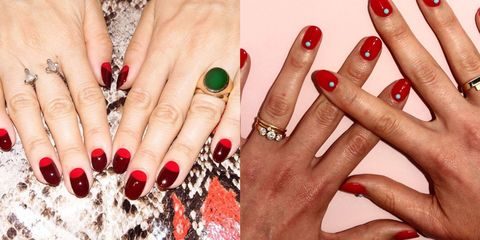 image - 15 Red Nail Art Designs - Cute Nail Ideas For A Red Manicure