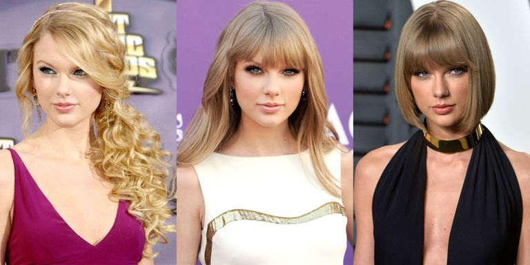 Taylor swift hairstyles taylor swifts curly straight short getty images voltagebd Image collections