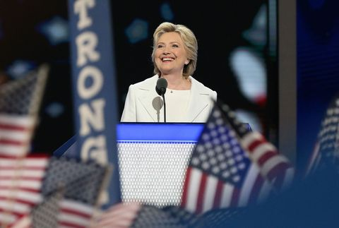 "<p>Although Clinton didn't end up becoming the first female President of the United States, she still managed to break the highest glass ceiling yet by becoming the first female nominee of a major party. Clinton championed women's rights as the center of her campaign until the very end when, during her concession speech, she said, ""To all the little girls watching, never doubt that you are valuable and powerful and deserving of every chance and opportunity in the world."" Another major milestone that women can hold on to despite Clinton's loss? She won the popular vote with <a href=""http://www.al.com/news/index.ssf/2016/12/clintons_popular_vote_lead_ove.html"" target=""_blank"" data-tracking-id=""recirc-text-link"">65,756,948 votes (and counting)</a>—over 2.8 million more than President Elect Trump.</p>"