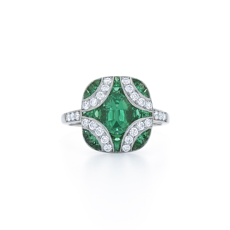 39 unique emerald engagement rings beautiful green emerald