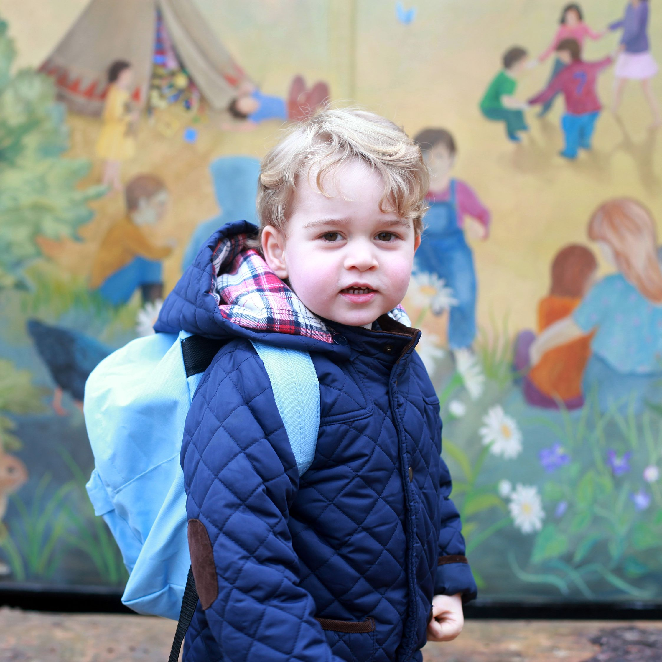 """<p><strong data-redactor-tag=""""strong"""">January 6</strong>: Prince George attends his <a href=""""http://www.harpersbazaar.com/celebrity/latest/news/a13559/prince-george-first-day-of-school/"""" target=""""_blank"""" data-tracking-id=""""recirc-text-link"""" data-external=""""true"""">first day of school</a>.</p>"""