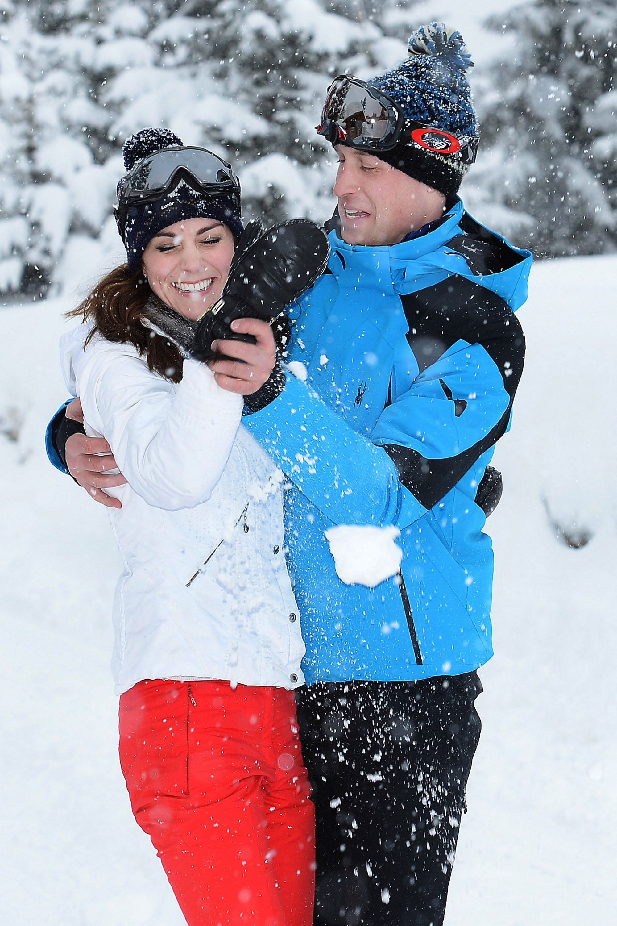 "<p><strong data-redactor-tag=""strong"">March 3</strong>: The Duke and Duchess of Cambridge <a href=""http://www.harpersbazaar.com/celebrity/latest/news/a14525/kate-middleton-prince-william-french-alp-pics/"" target=""_blank"" data-tracking-id=""recirc-text-link"" data-external=""true"">release adorable photos</a> from their first vacation as a family of four.</p>"