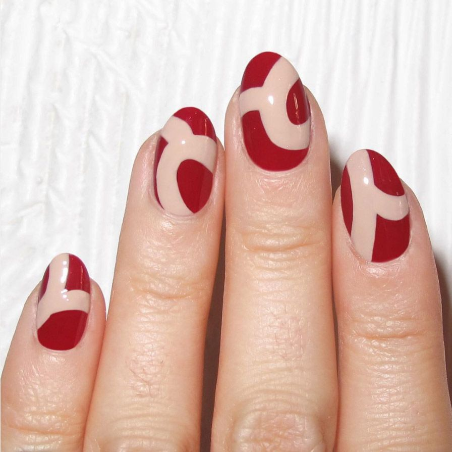 15 red nail art designs cute nail ideas for a red manicure prinsesfo Image collections