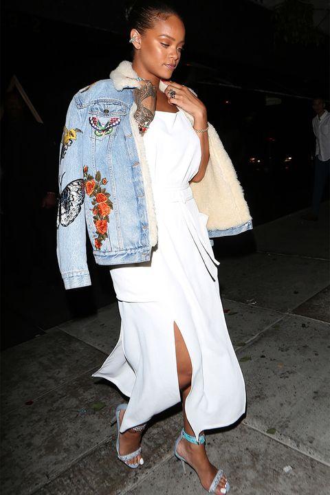 708bf3ce9a9 15 Rihanna Coats to Inspire Your Winter Wardrobe - Rihanna's Best ...
