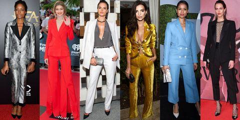 Face, Textile, Fashion, Blazer, Carpet, Fashion design, Makeover, Houseplant, Belt, Red carpet,