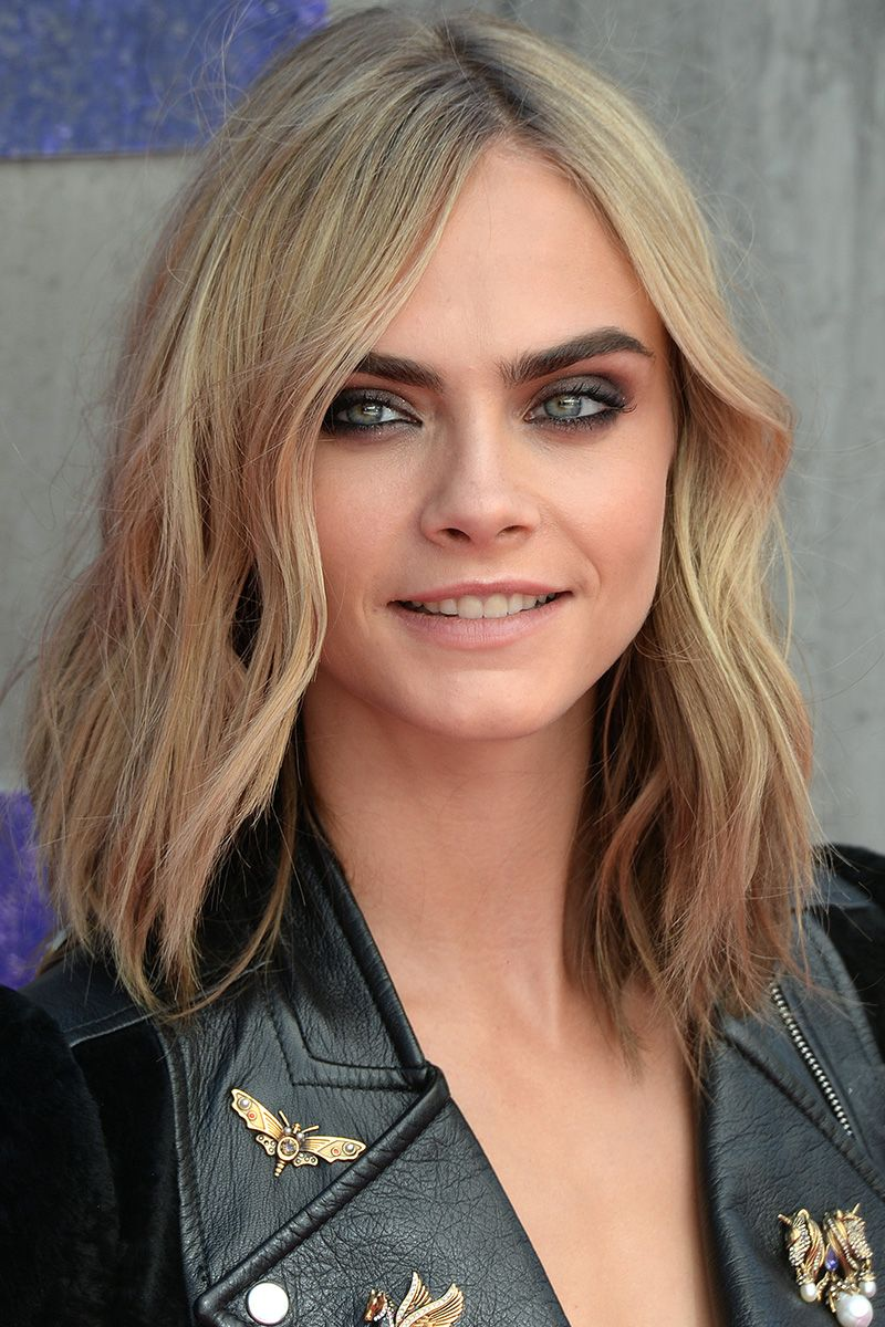 40 Best Medium Hairstyles - Celebrities With Shoulder Length Haircuts