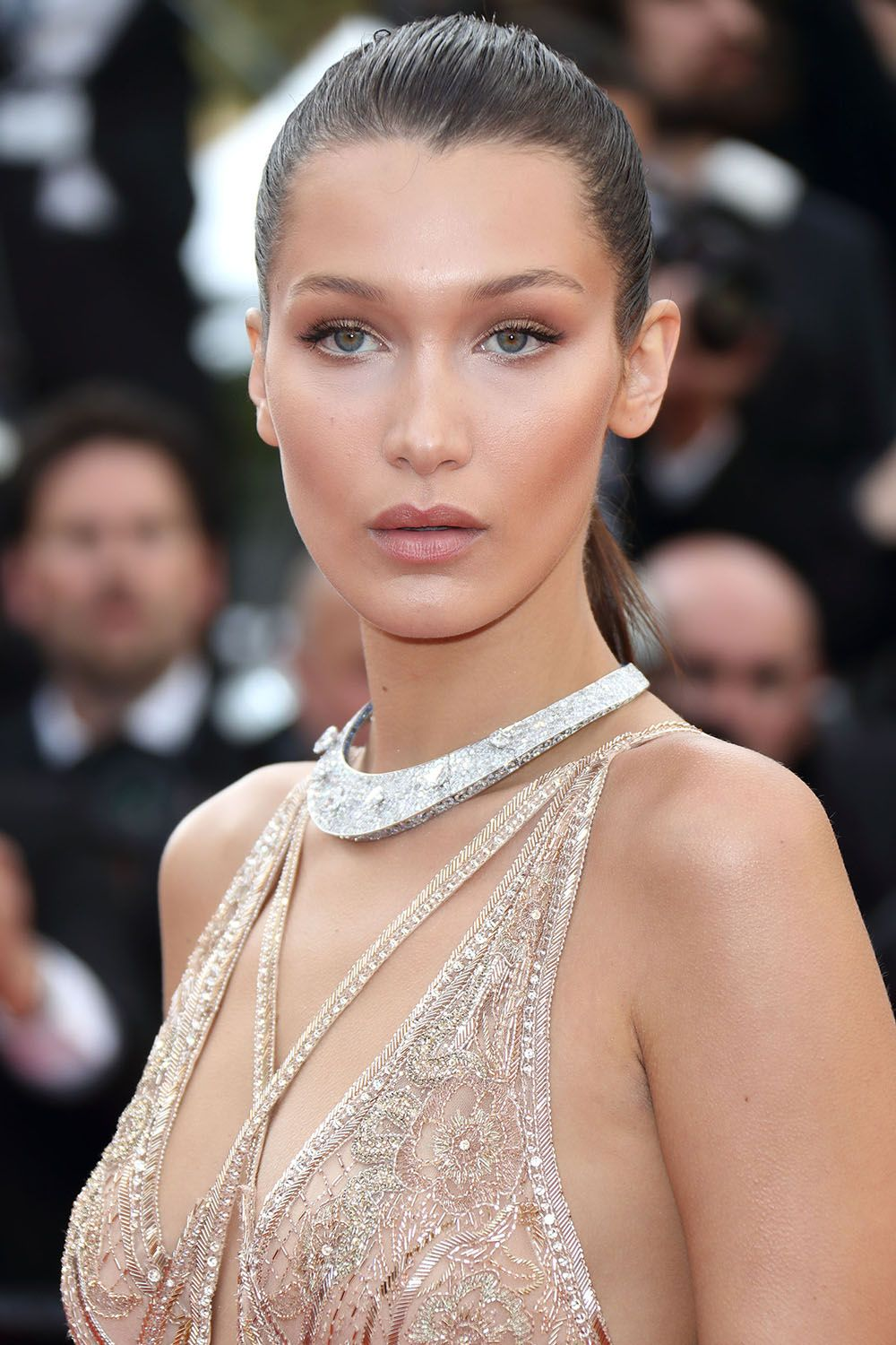 <p>Bella Hadid's rise to supermodel status has been happening for quite some time. But it wasn't until she stepped-out at the Cannes Film Festival, looking like a chiseled queen of contouring, that her title was cemented. </p>