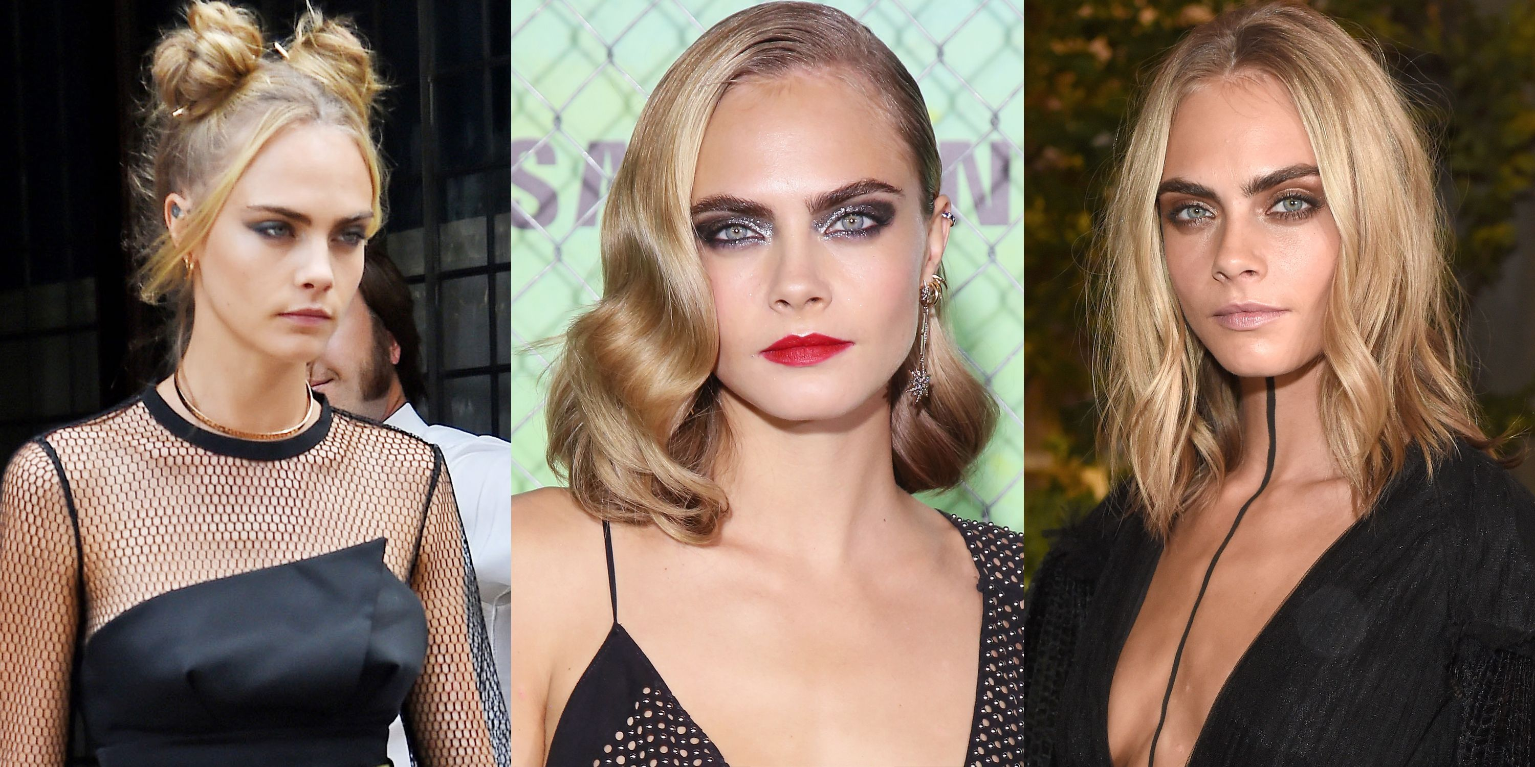 "<p>In between attending runway shows and premieres for her film <em data-redactor-tag=""em"" data-verified=""redactor"">Suicide Squad,</em> Cara Delevingne brought her beauty A-game in 2016. </p>"