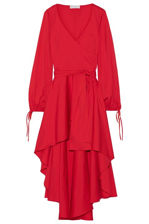 """<p>""""I tend to buy a lot of separates, which can make life complicated, my goal is 2017 is to streamline and invest in a few great dresses that I'll want to wear over and over again.""""</p><p><em data-redactor-tag=""""em"""" data-verified=""""redactor"""">Caroline Constas dress, $695, <a href=""""https://www.net-a-porter.com/us/en/product/807865/caroline_constas/lena-asymmetric-wrap-effect-cotton-blend-mini-dress"""" target=""""_blank"""" data-tracking-id=""""recirc-text-link"""">net-a-porter.com</a>.&nbsp;</em></p>"""