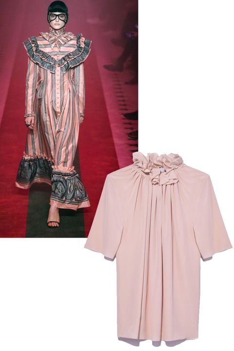 Sleeve, Textile, Formal wear, Fashion, Costume design, Maroon, Costume, One-piece garment, Peach, Fashion design,