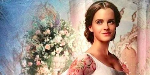 How To Create Belles Hairstyle From Beauty And The Beast : Emma watson wears belles wedding dress in beauty and the beast