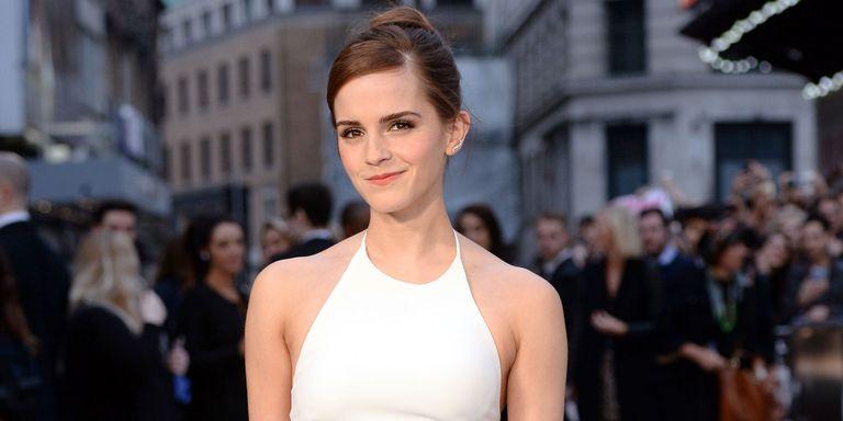 Emma Watson Wears Belles Wedding Dress In Beauty And The Beast