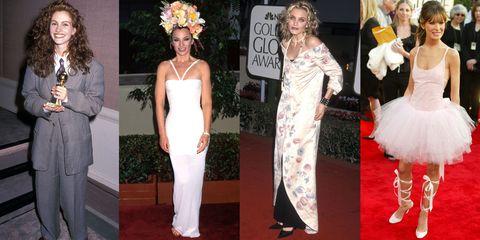 8970bf8a6e98 Weirdest Golden Globes Dresses of All Time - Worst Golden Globes ...