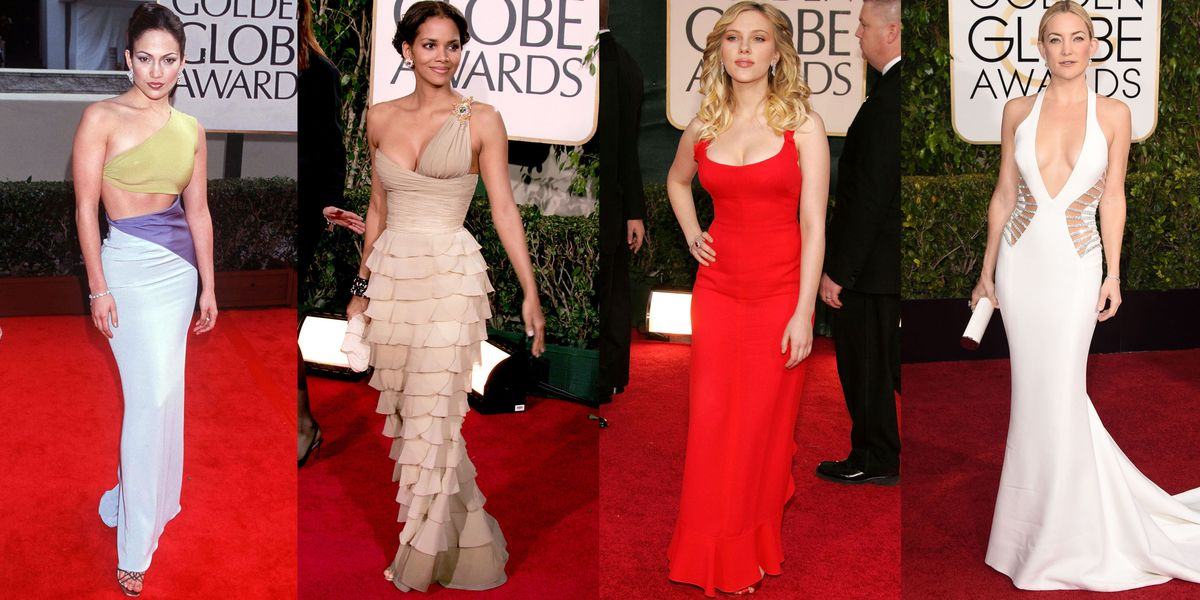 See the Sexiest, Most Scandalous Golden Globes Dresses of All Time