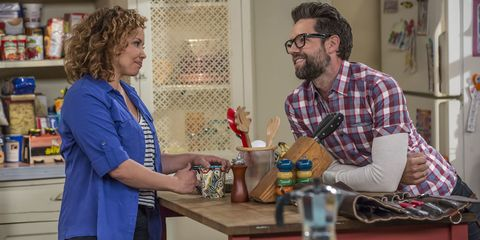 "<p>This critically-acclaimed remake of the 1970s CBS sitcom of the same name follows a Cuban-American family headed up by former veteran and single mom Penelope (Justina Machado), who's raising two kids (Isabella Gomez and Marcel Ruiz) with help of her mother (Rita Moreno).</p><p><strong data-verified=""redactor"" data-redactor-tag=""strong""><em data-redactor-tag=""em"" data-verified=""redactor"">All 13 episodes of Season 1 premiered Friday, January 6 on Netflix. </em></strong><br></p>"