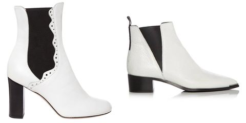 Footwear, Product, White, Boot, Fashion, Black, Leather, Beige, Dancing shoe, Fashion design,