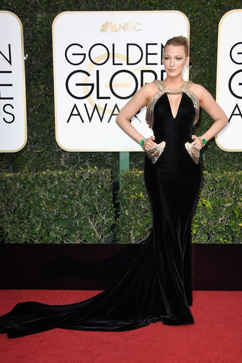 Best Golden Globes Red Carpet Dresses 2017 Celebrity Pictures From The