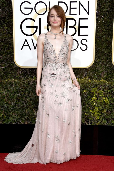 8c1cf25a8 Best Golden Globes Red Carpet Dresses 2017 - Celebrity Pictures From the  Golden Globes Red Carpet