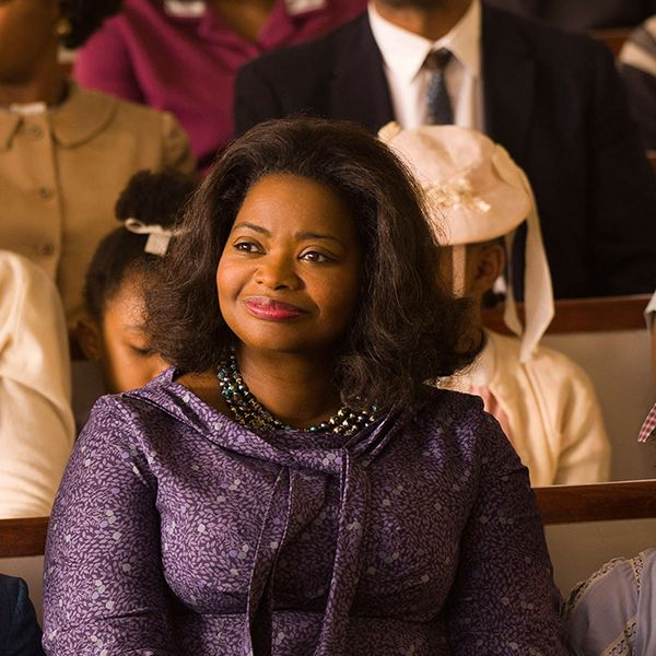 """<p>Three black NASA employees (Taraji P. Henson, Octavia Spencer and Janelle Monae) use their mathematical knowledge to become instrumental members of the team that launched the first American astronaut into Earth's orbit.</p><p>Watch the trailer <a href=""""https://www.youtube.com/watch?v=5wfrDhgUMGI"""" target=""""_blank"""" data-tracking-id=""""recirc-text-link"""" data-external=""""true"""">here</a>.</p>"""