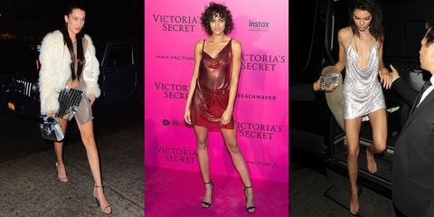 <p>Bella Hadid, Alanna Harrington and Kendall Jenner are just a few of the ladies who got the ball rolling on evening's latest sexy trend—chain mail everything. It's equal parts armor and party dress and we can't think of a better mix for the year ahead.</p>