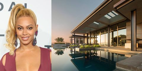 <p>When Queen B wasn't slaying the Super Bowl halftime show, she was kicking back with Jay Z and Blue Ivy in this five-bedroom, five-bathroom house in Los Altos, California. The property boasts an infinity pool, sweeping views of the San Francisco Bay area, a rooftop garden, and a fully stocked wine cellar. Rumor has it that Justin Bieber stayed in the same Airbnb before kicking off the Purpose World Tour earlier this month. </p>