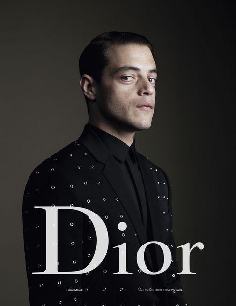 9c67379f4b1 Rami Malek for Dior Homme.