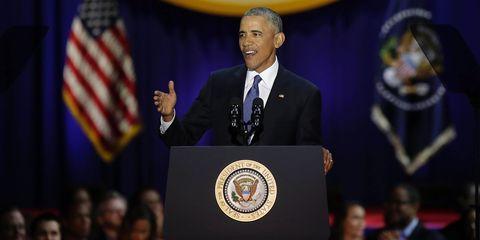 Microphone, Flag, Audio equipment, Public speaking, Podium, Government, Blazer, Speech, Flag of the united states, Orator,