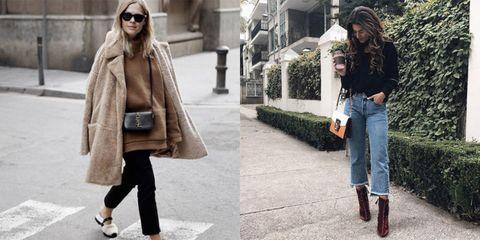 Clothing, Leg, Brown, Human body, Denim, Textile, Jeans, Photograph, Outerwear, Bag,