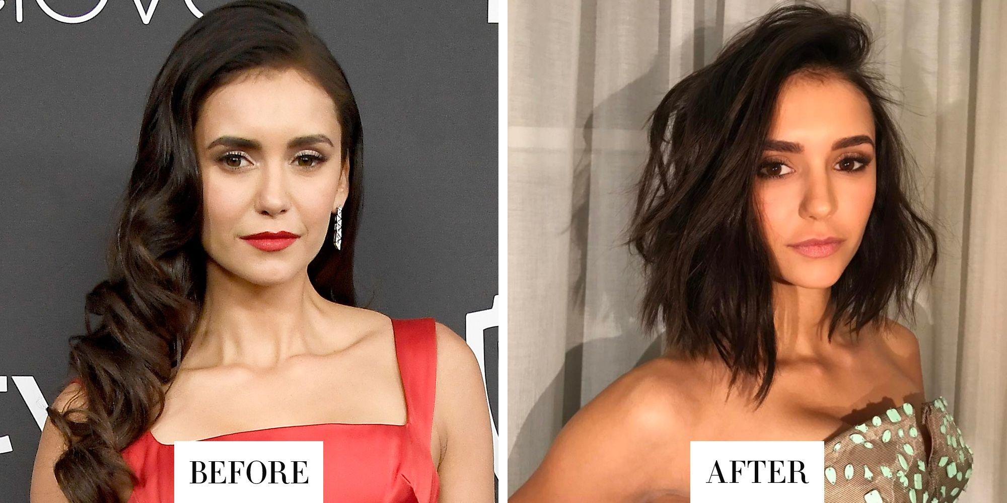 Excellent Best Celebrity Hair Transformations 2017 Celebrity Hairstyles Hairstyle Inspiration Daily Dogsangcom