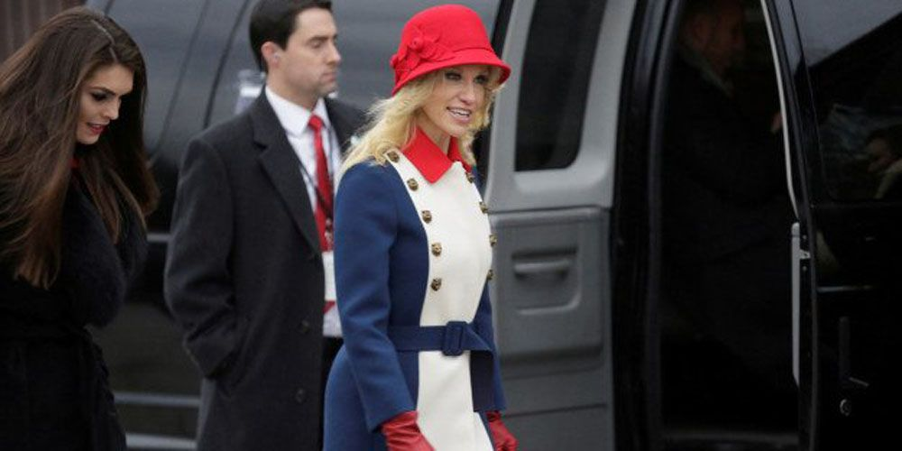 Kellyanne Conway Wears Gucci to Inauguration - Kellyanne Conway ...