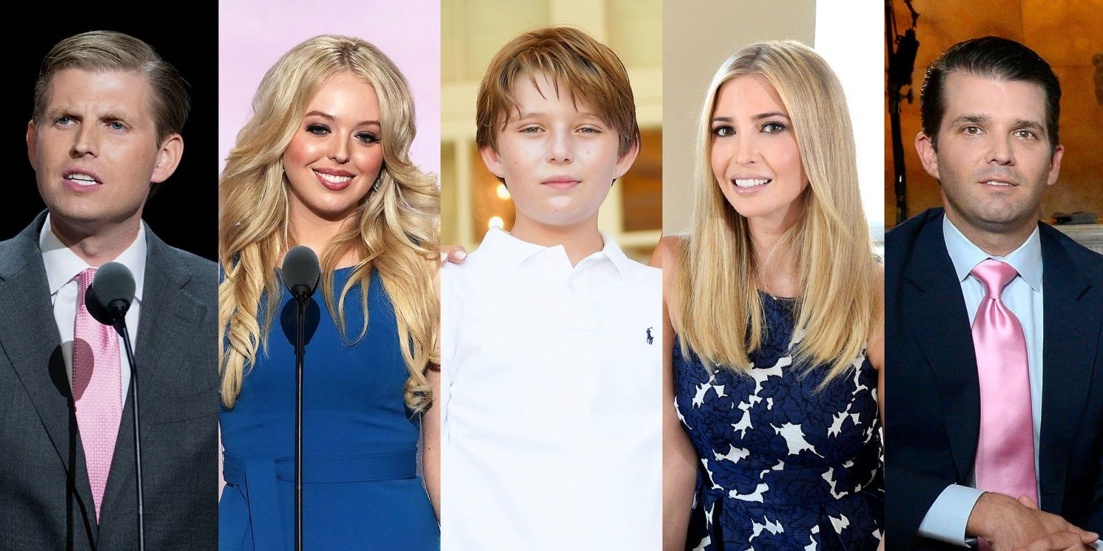 An Official Guide to Donald Trump's 5 Kids