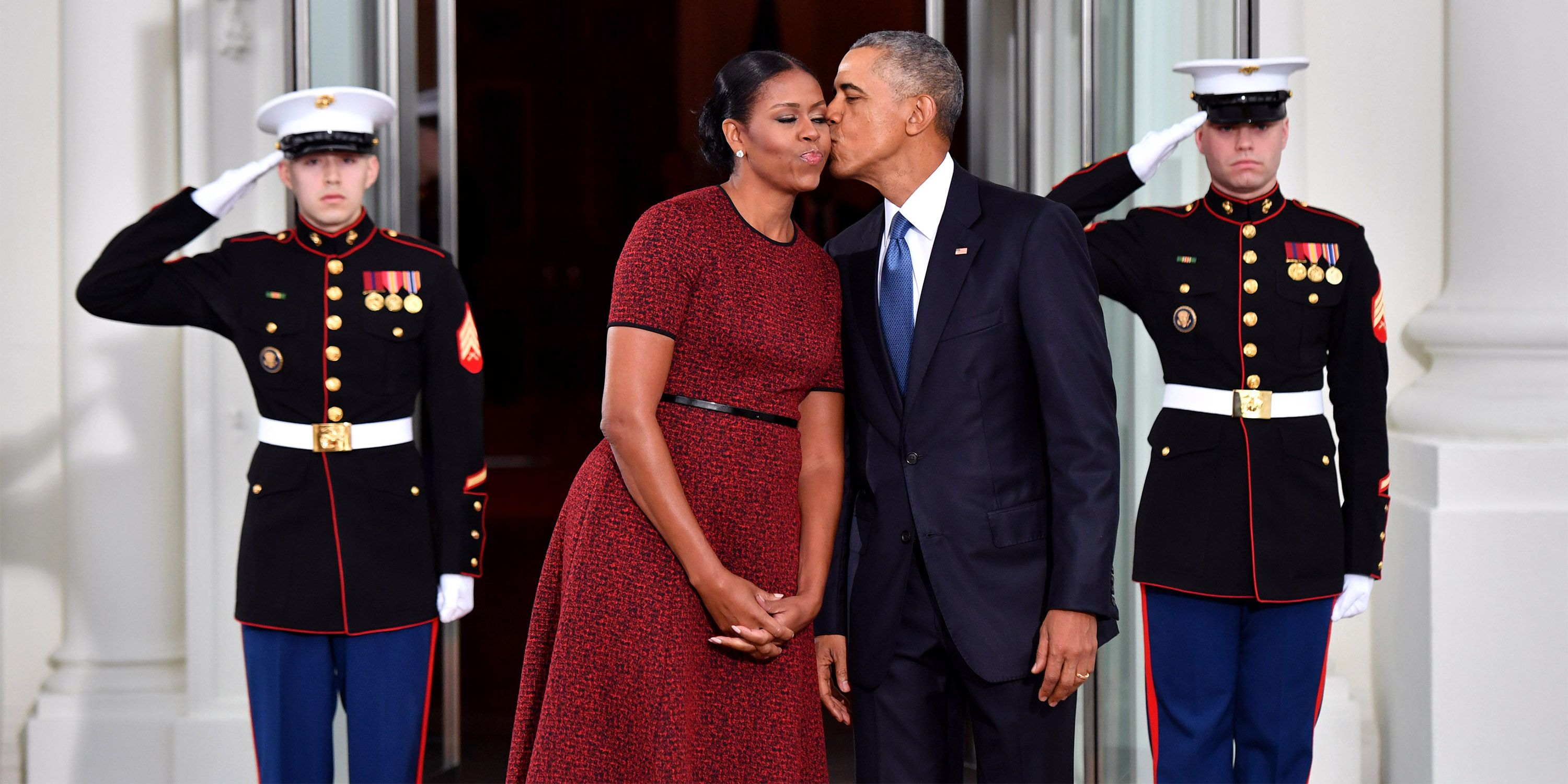 Barack and Michelle Obama's Sweetest Moments in Photos - Barack and