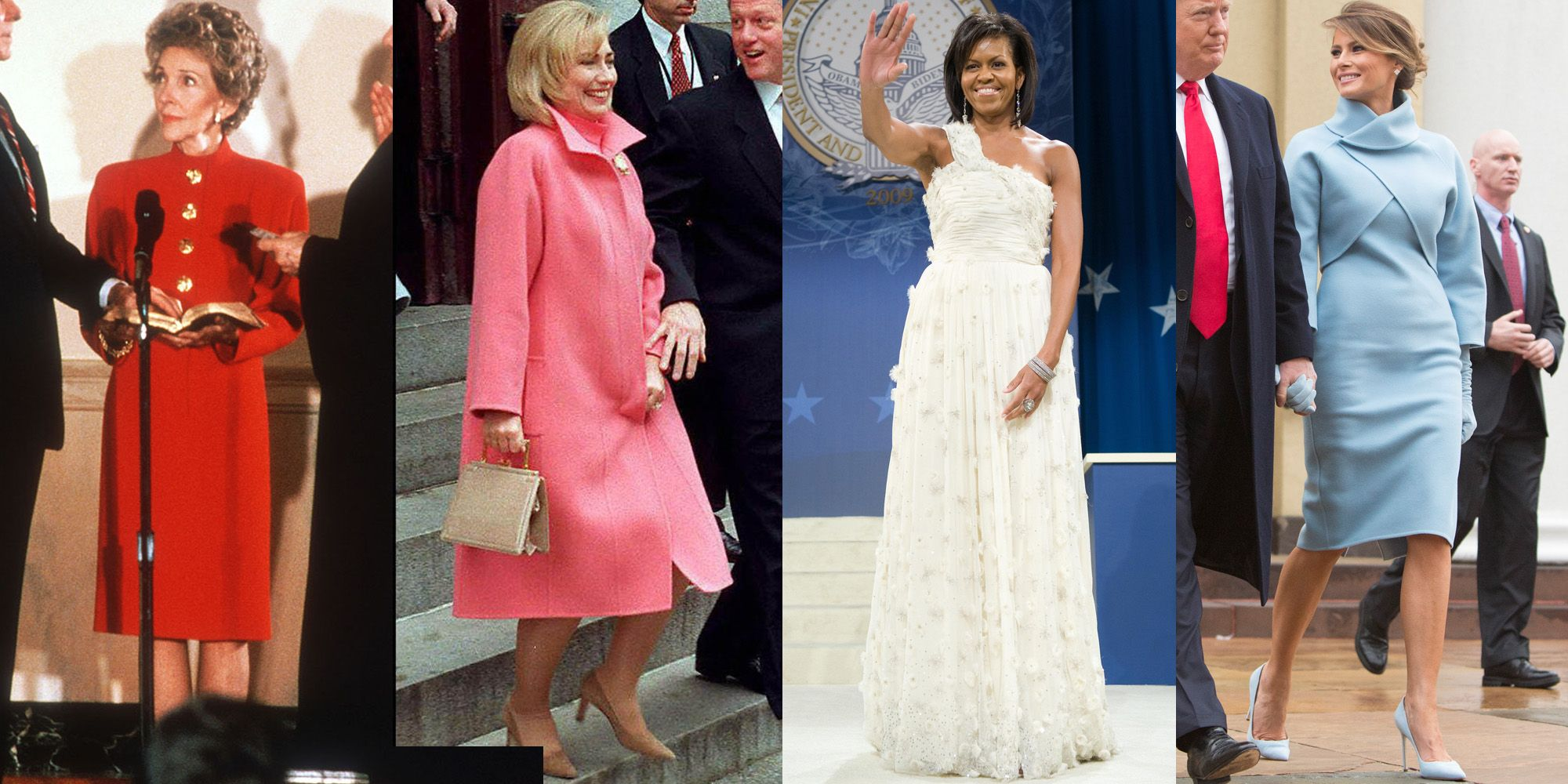 First Ladies On Inauguration Day - History of First Ladies On ...