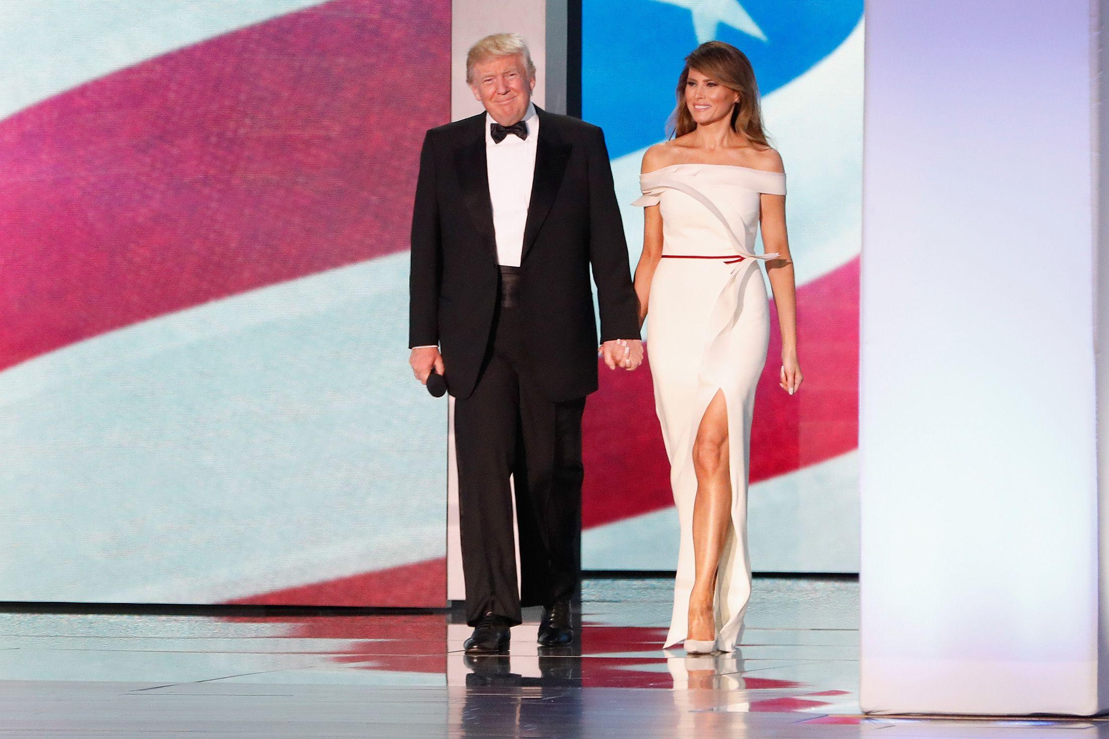 Melania Trump Inauguration Ball Outfit Meaning - Why Melania Trump ...