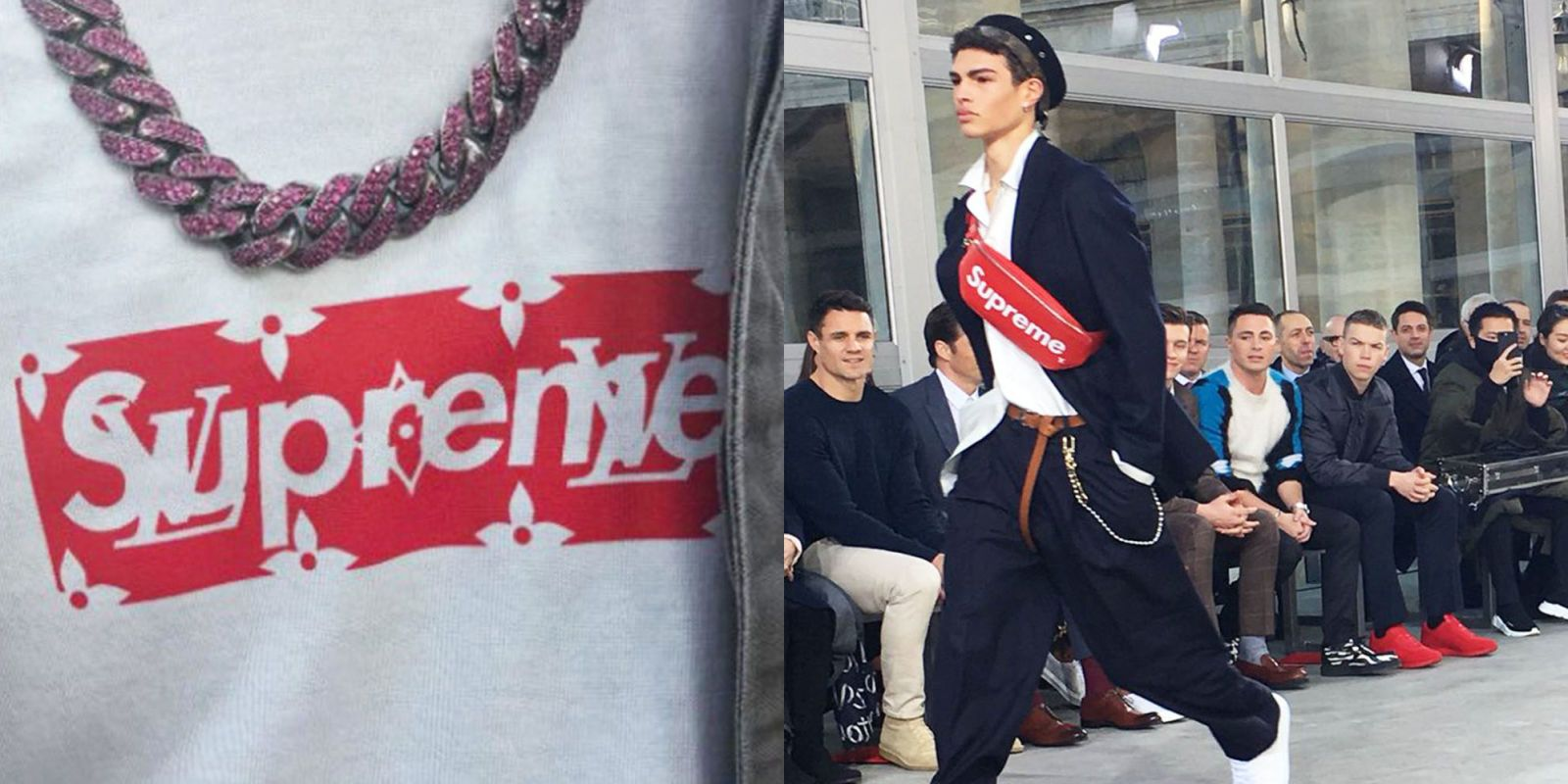 That Supreme x Louis Vuitton Collaboration Is Real