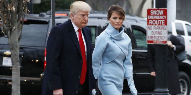 Image result for melania trump inauguration