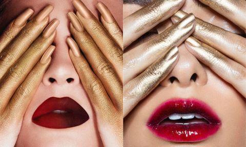 Finger, Lip, Skin, Nail, Eyelash, Organ, Pattern, Lipstick, Photography, Close-up,