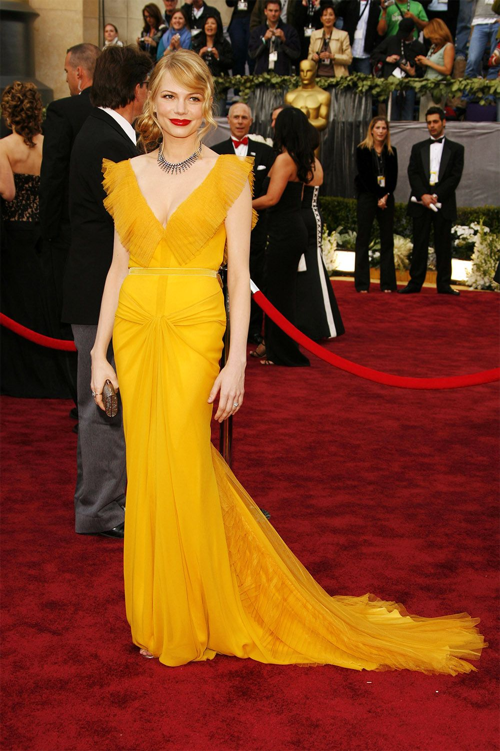 cab41c960d1 57 Best Oscar Dresses of All Time - Best Red Carpet Dresses From Academy  Awards