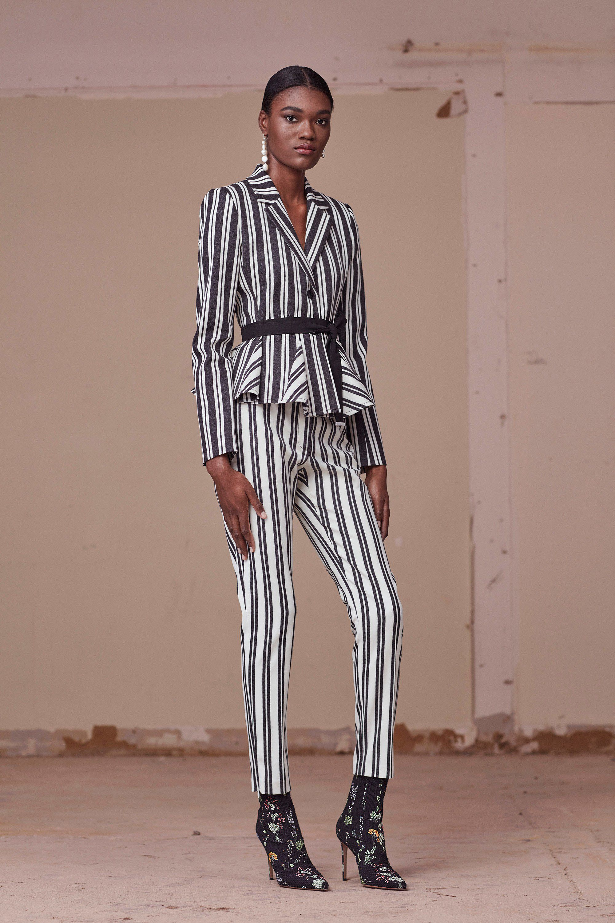 "<p>While Spring gave us a rainbow selection of stripes, pre-fall is taking the idea back to its simpler origins for some high contrast cool. </p><p><em data-redactor-tag=""em"" data-verified=""redactor"">Pictured: Altuzarra</em></p>"