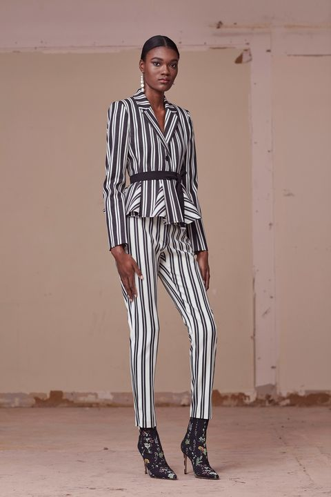 """<p>While Spring gave us a rainbow selection of stripes, pre-fall is taking the idea back to its simpler origins for some high contrast cool.&nbsp;</p><p><em data-redactor-tag=""""em"""" data-verified=""""redactor"""">Pictured: Altuzarra</em></p>"""
