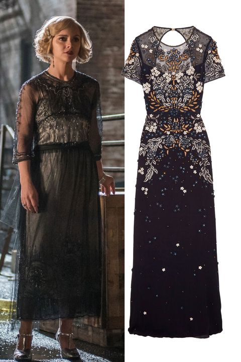 "<p>Nothing more accurately represents the spirit of the '20s&nbsp;than fabulous&nbsp;beading.&nbsp;A streamlined silhouette is the perfect balance for this dazzling texture.&nbsp;</p><p><strong data-verified=""redactor"" data-redactor-tag=""strong"">Jenny Packham</strong><span class=""redactor-invisible-space"" data-verified=""redactor"" data-redactor-tag=""span"" data-redactor-class=""redactor-invisible-space""> dress, $5,765, <a href=""https://www.net-a-porter.com/us/en/product/819381/jenny_packham/cutout-embellished-tulle-gown"" target=""_blank"" data-tracking-id=""recirc-text-link"">net-a-porter.com</a>.</span><br></p>"